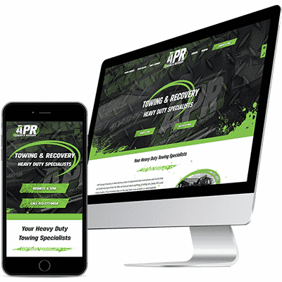 Custom Towing Website Design