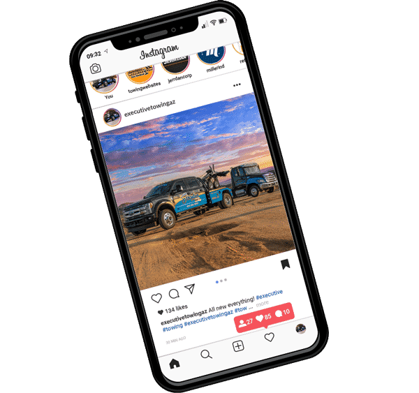 Social Media Management for Towing Companies