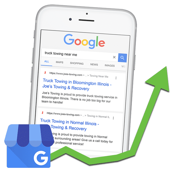Tow Company Google My Business Management