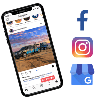 Towing Company Social Media Management